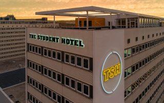 Leuchtbuchstaben Profil 3 Schattenschrift TSH Dresden Luftbild